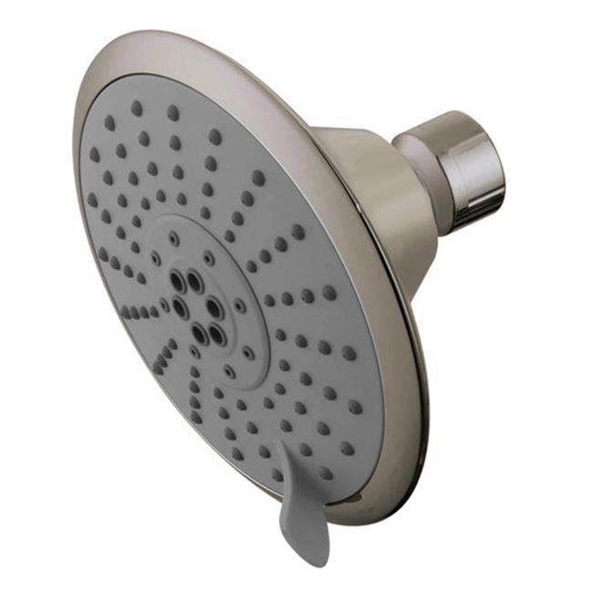 Watersense  5 Diameter 5 Function Spray Pattern Shower Head  Satin Nickel