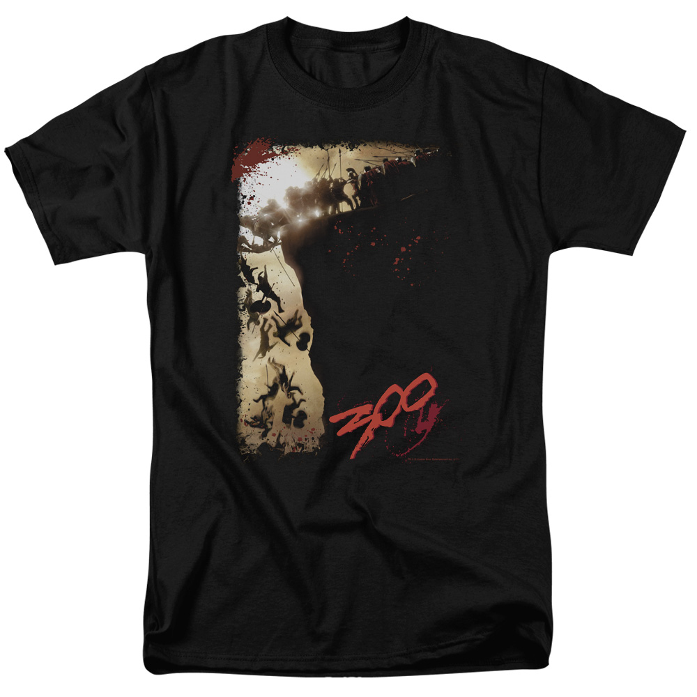300 The Cliff Mens Short Sleeve Shirt