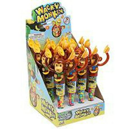 Kidsmania Candy Filled Wacky Monkeys 12 Count (Filled Box)