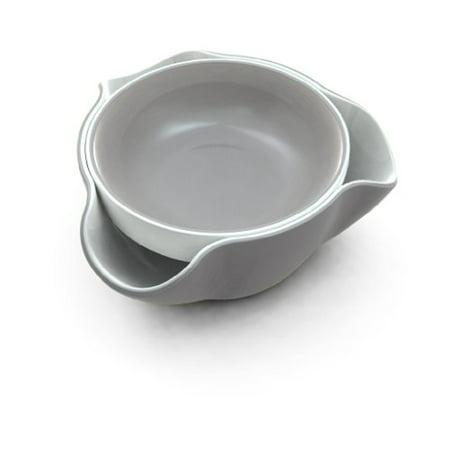 Joseph Dr010gb Double Dish Serving Bowl Pistachio Pedestal Snack Olive Nut Server Melamine Dishwasher
