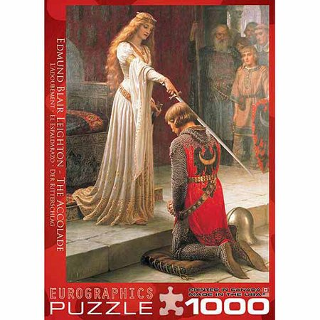 EuroGraphics The Accolade by E.B. Leighton 1000-Piece Puzzle