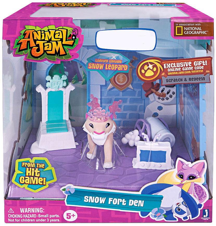 Animal Jam Snow Fort Den Playset by Jazwares