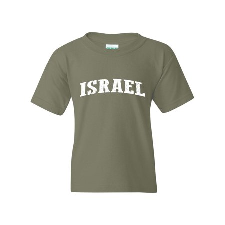 Israel Unisex Youth Kids T-Shirt Tee