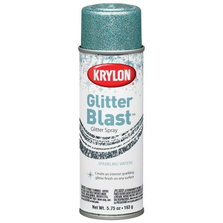 Krylon Glitter Blast Glitter Spray Paint, 5.7 oz., Sparkling - Sparkling Pinot Grigio