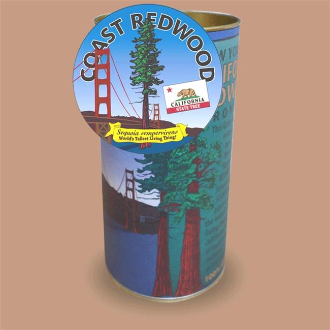 Jonsteen 5701 California Redwood Grow Kit, Coast Redwood