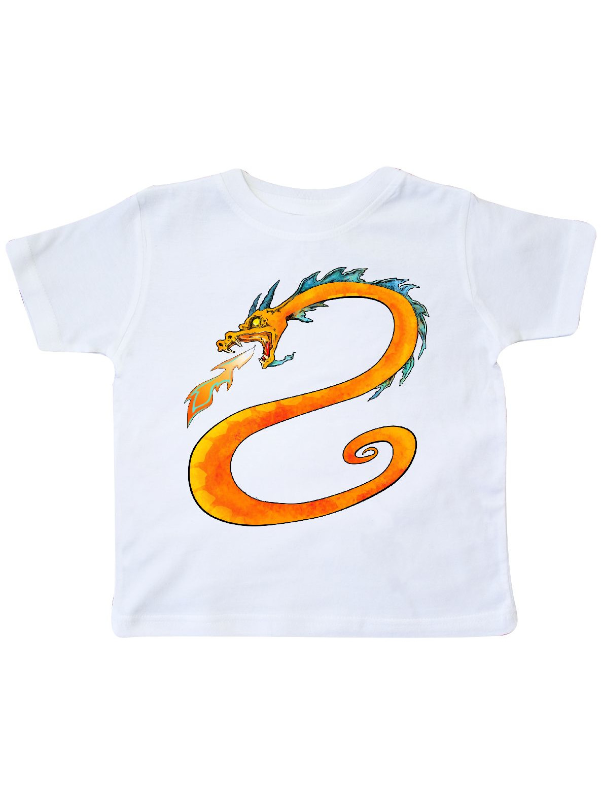 Fire-Breathing Dragon Toddler T-Shirt
