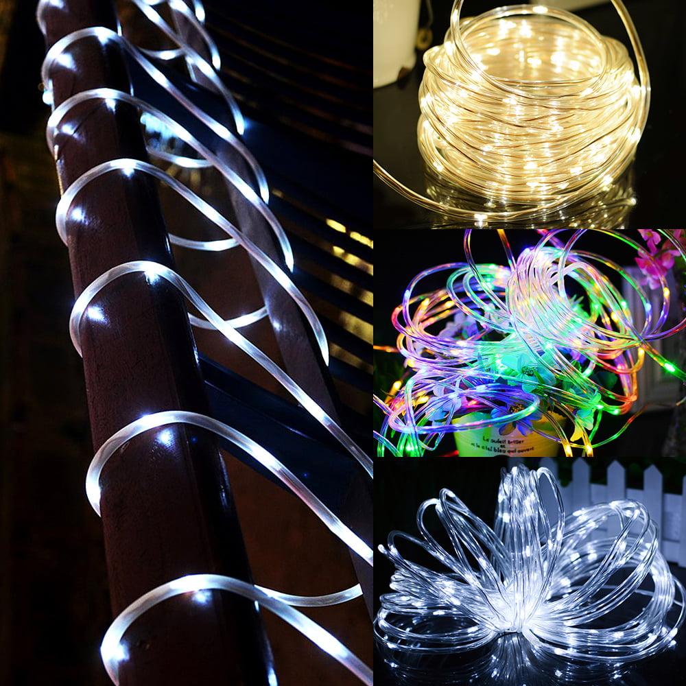 10M 100Led Solar Power Fairy Light String Lamp Party Xmas Deco Garden Outdoor