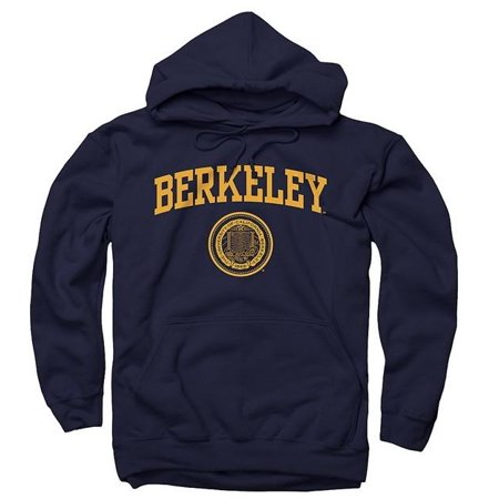 - University Of California Berkeley Arch And Seal Men's Hoodie - Navy