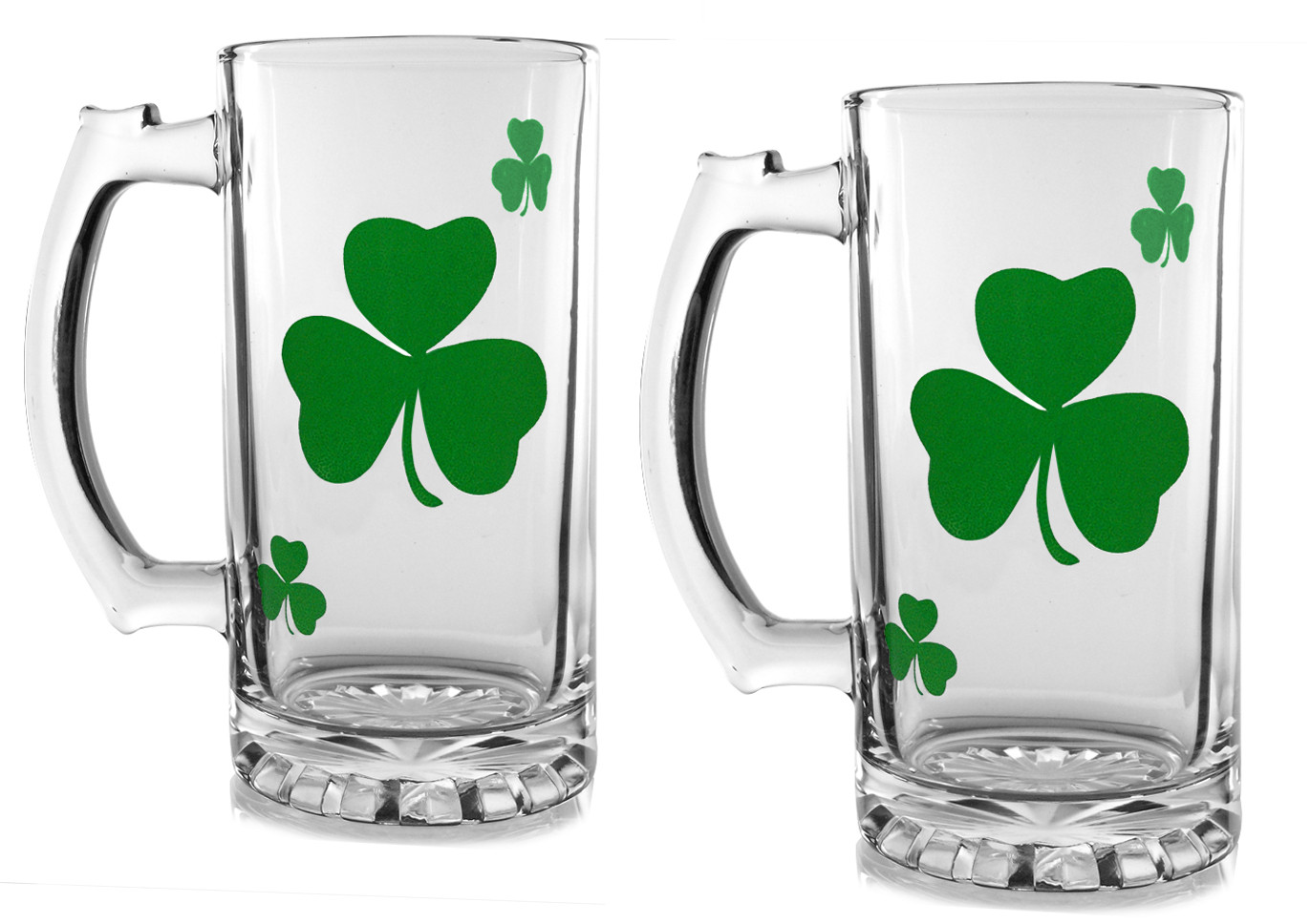 Irish Beer Mugs Set of 2 by