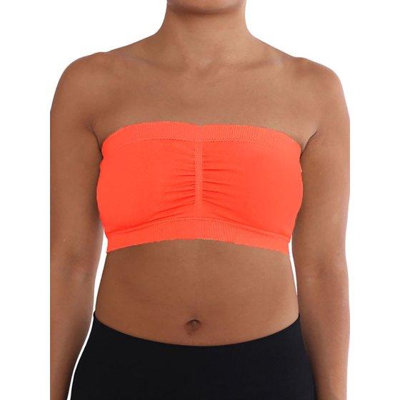 fd70aae83e5 LAVRA - LAVRA Women s Plus Size Padded Strapless Bra Bandeau ...
