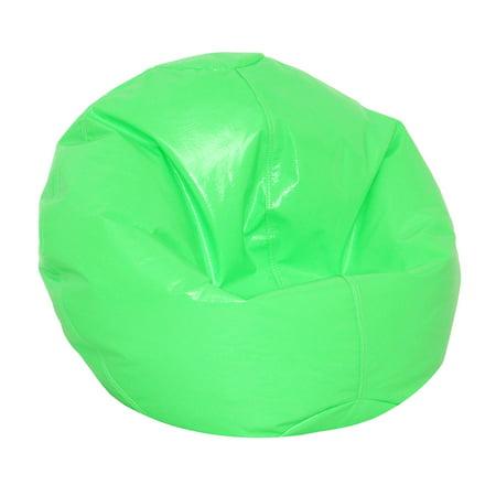Wetlook Vinyl Junior Pure Bead Bean Bag Neon Green