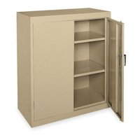 ZORO SELECT 1UFC3 Storage Cabinet,Sand,42 In H,36 In W