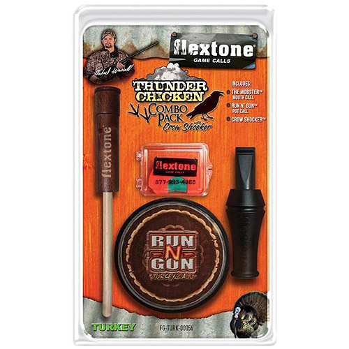 Evolved Flextone Turkey Combo Pack with Crow Call