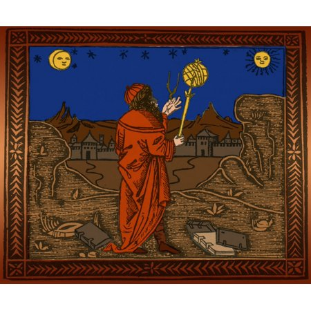 Albumasar Persian Astrologer Astronomer Poster Print by Science Source