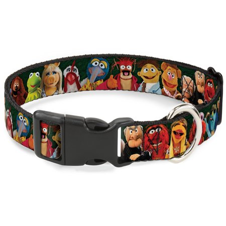 Plastic Clip Collar - Muppets 20-Character Group Pose Greens - Large 15-26
