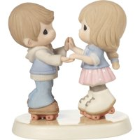 Precious Moments So Happy You Rolled Into My Life - Roller Skating Couple Figurine #179020