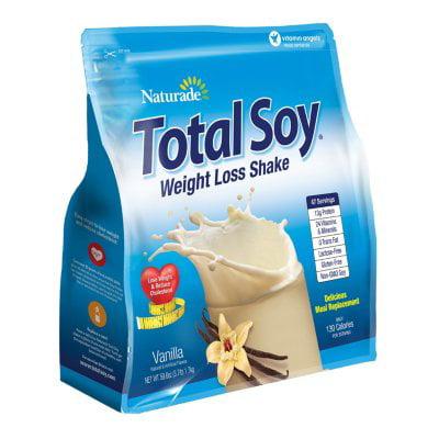 Naturade total soja repas remplacement vanille 59,58 oz