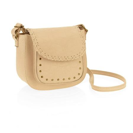 Ring Hobo Handbag Purse Bag - No boundaries Women's Crossbody Saddle Handbag