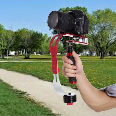 New Hand-held Steadycam Video Stabilizer Motion Cam For DSLR Camera Camcorder HITC