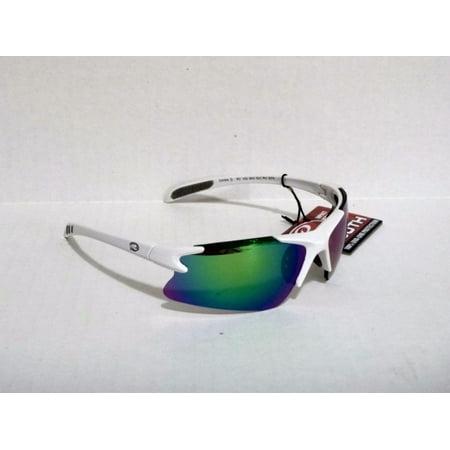 f22907192dcd3 Rawlings - Rawlings RY103RV Youth baseball softball protection sunglasses  White Grn10214041 - Walmart.com
