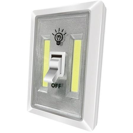 - LED Night Light Kasonic 200 Lumen Cordless COB LED Light Switch Batteries Included
