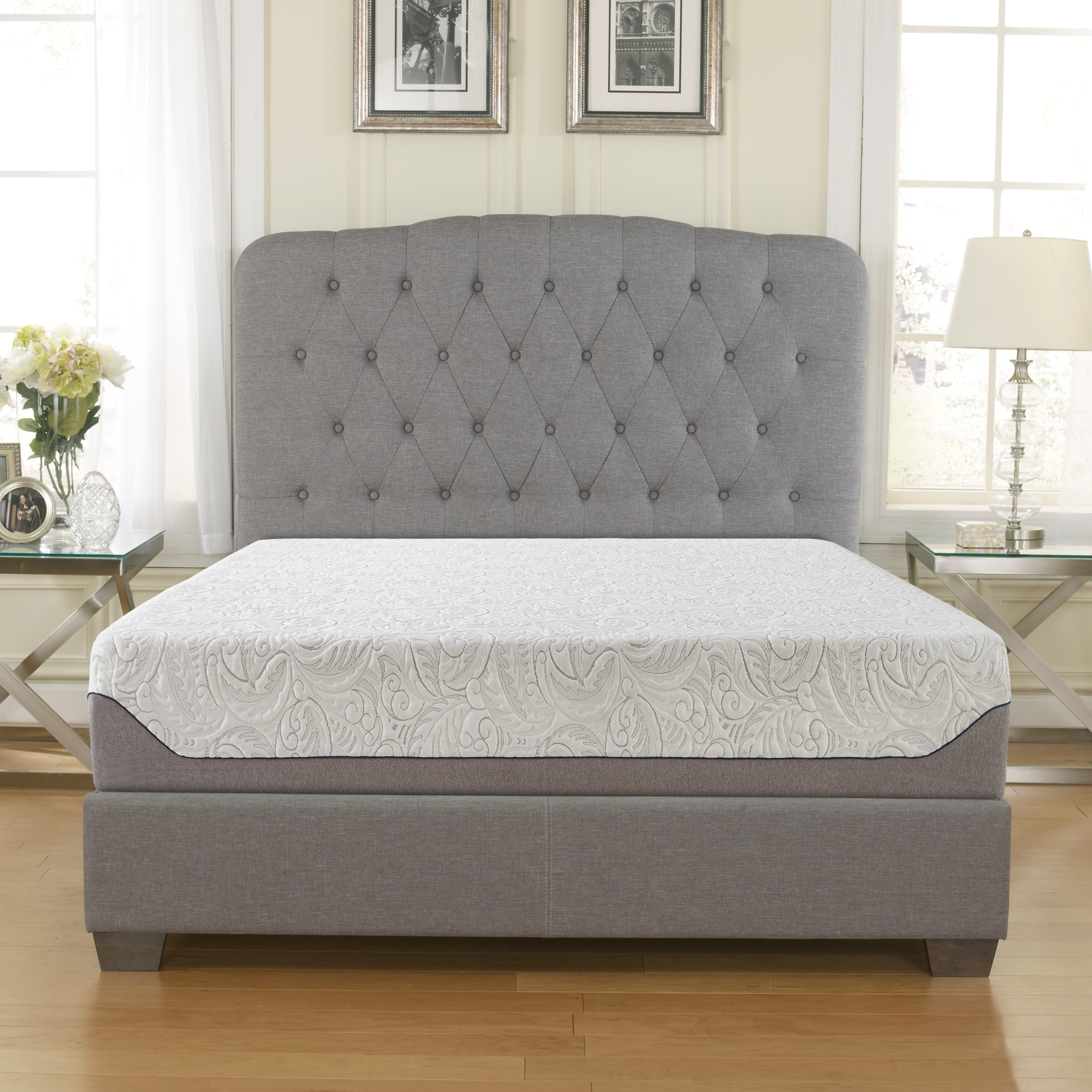 Sleep Sync  10-inch King-size Air-Flow Gel Memory Foam Mattress