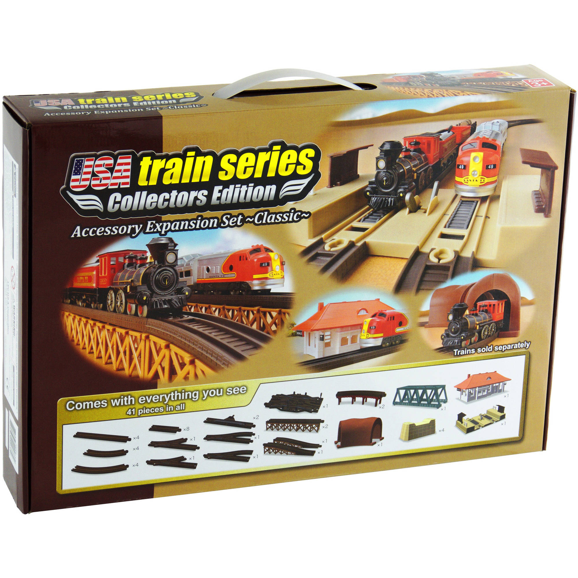 LEC USA Train Expansion Set, Classic