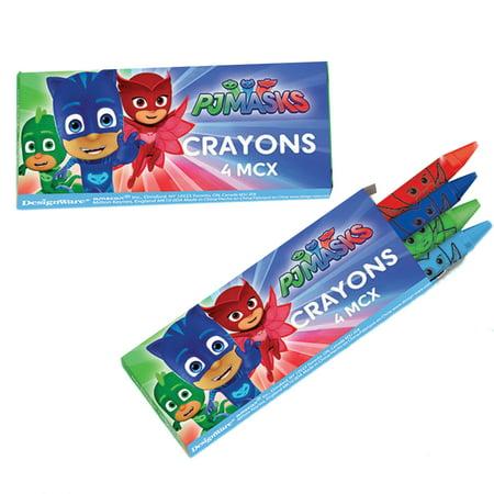 PJ Masks Crayons (12 Count) (Wholesale Crayon)
