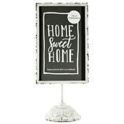 "Better Homes & Gardens 6"" x 13"" Tabletop Vintage Cream Decorative Chalkboard"