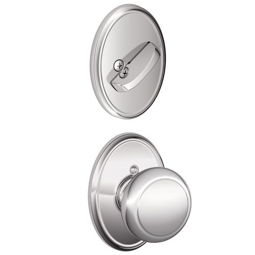 Schlage F59-AND-WKF Andover Single Cylinder Interior Pack with Decorative Wakefi