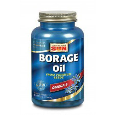 Borage Oil 300mg Health From The Sun 60 Caps