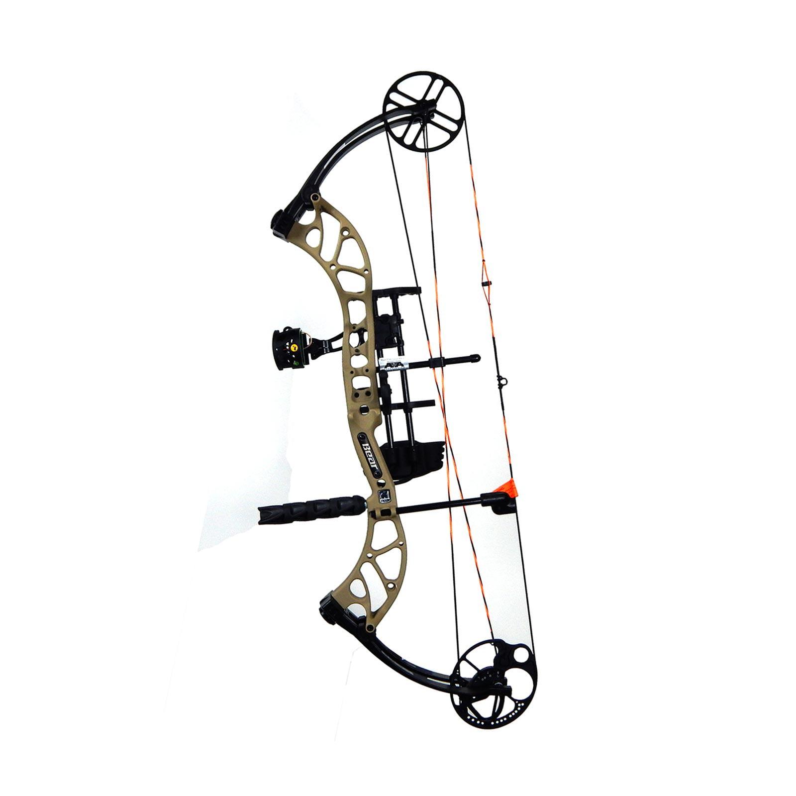 "Bear Archery Wild RTH Compound Bow Package 24-31"" RH 50-60# Sand, A6WD11306R by Bear Archery"