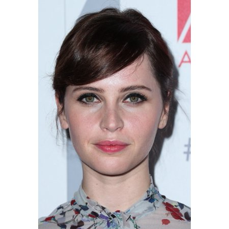 Stretched Canvas Art   Felicity Jones At Arrivals For 19Th Annual Art Directors Guild Excellence In Production Design Awards  Adg    Small 8 X 10 Inch Wall Art Decor Size