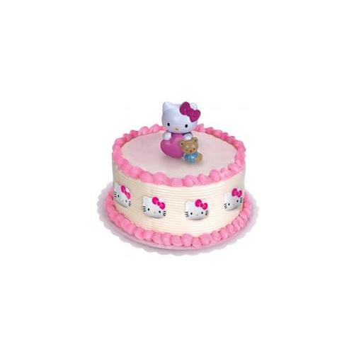 Bakery Crafts Hello Kitty Cake Topper And 8 Rings
