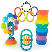 Sassy Mover & Shaker Sensory Baby Toy Gift Set - 6+ Months