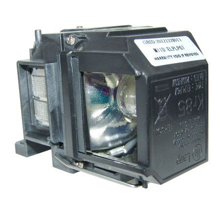 Original Osram Projector Lamp Replacement with Housing for Epson PowerLite Home Cinema 710UG - image 3 de 5