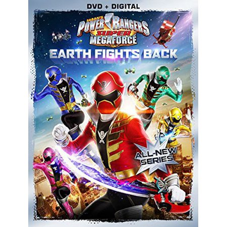 Power Rangers Super Megaforce Volume 1: Earth Fights Back (DVD)](Power Rangers Megaforce Halloween Special)