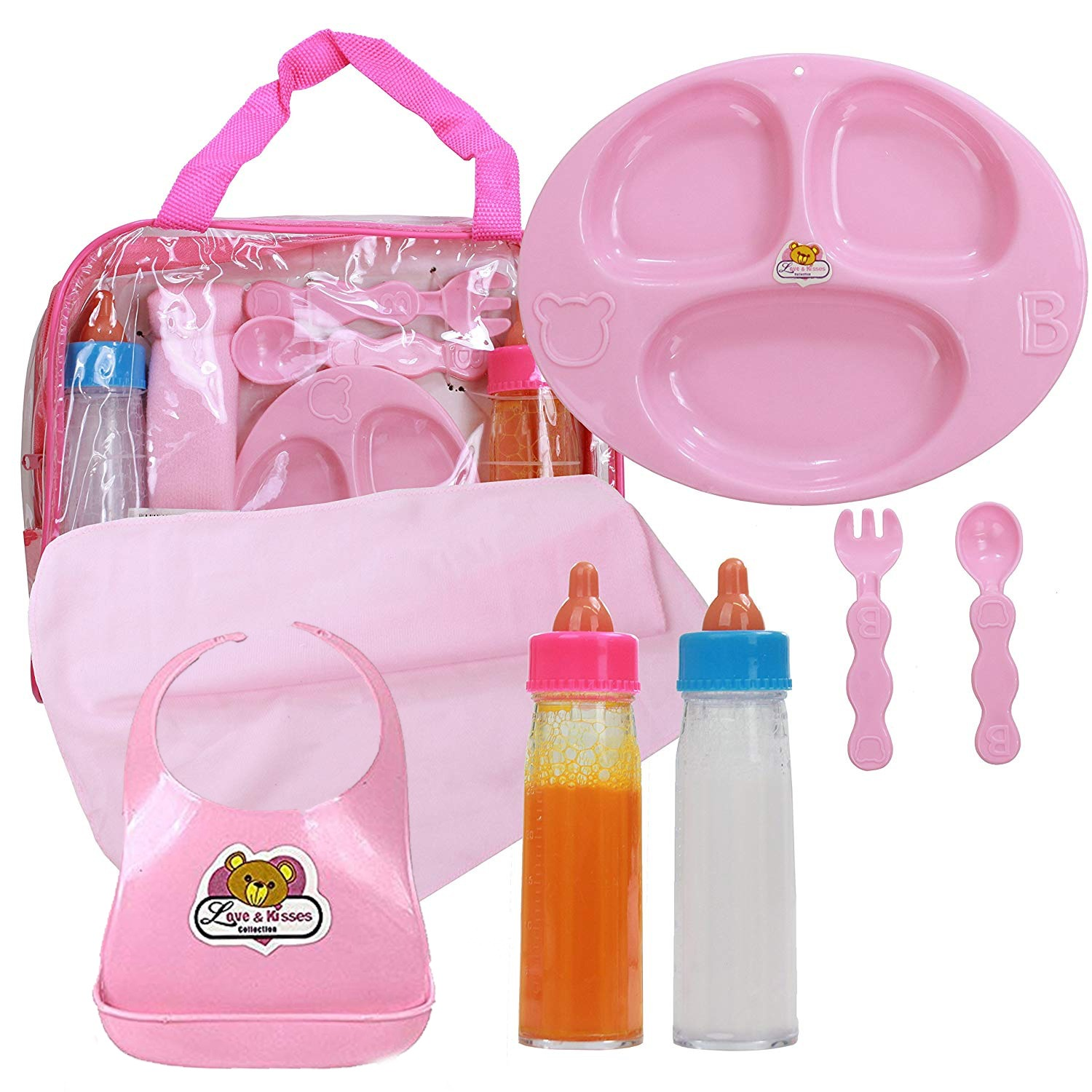 Baby Doll Accessories Doll Feeding Set And Doll Magic