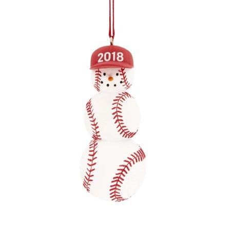 3f4cf7e34cc6d Baseball 2018 Hallmark Christmas Ornament Home   Kitchen