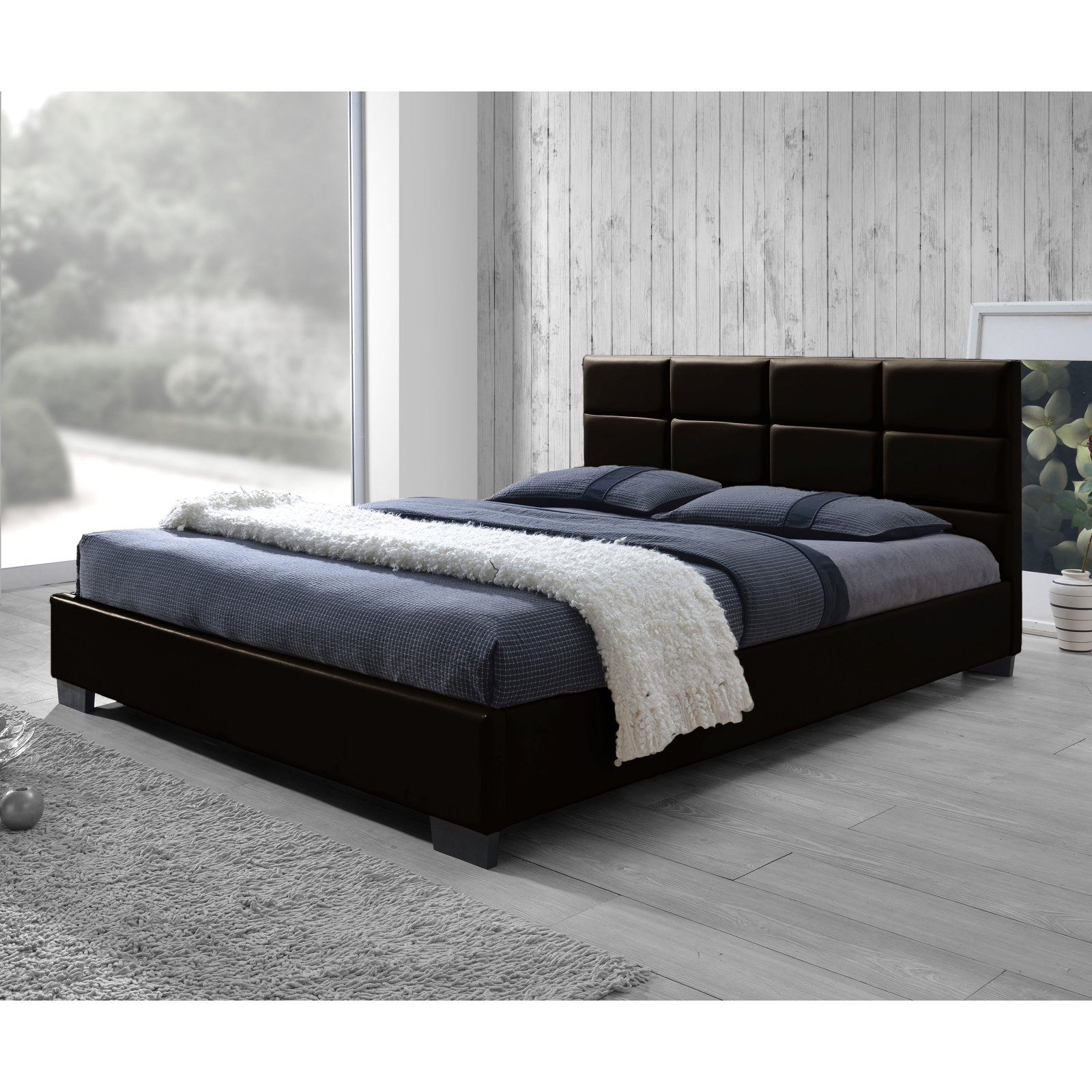 Baxton Studio Vivaldi Upholstered Platform Bed by Baxton Studio