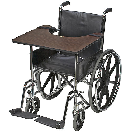 DMI Wheelchair Tray, Hardwood