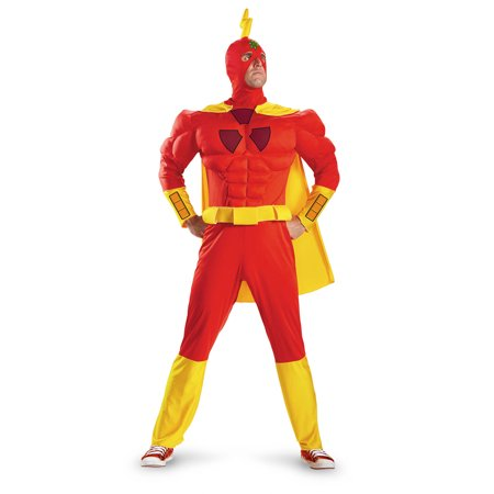 Simpsons Radioactive Man Classic Muscle Costume by Disguise 55298 - Radioactive Costume