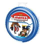 Mayka Toy Block Tape, 6.5ft 2-stud (Blue)