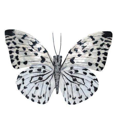 Eco Style Home esh126 Butterfly Wall Decor Black & White - Walmart.com