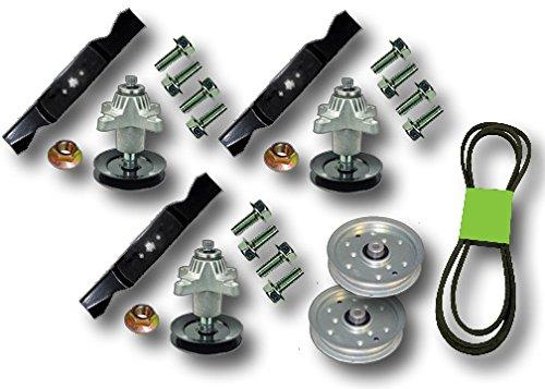 """Spindle Blade Belt Deck Rebuild Kit for Cub Cadet GT1554 54/"""""""