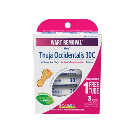 Wart Removal Thuja Occidentalis 30C Homeopathic Medicine Buy 2 Get 1 Bonus Pack