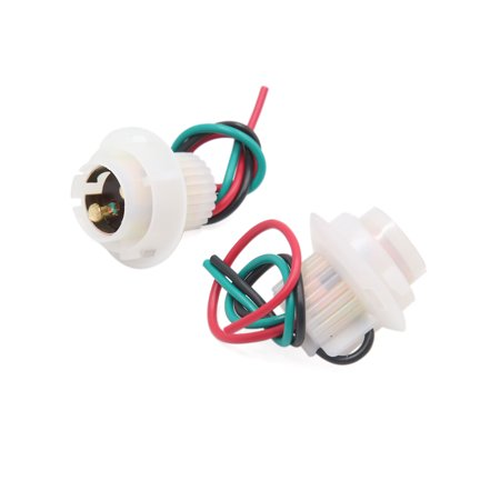2pcs 1157 Brake Signal Light Bulb Wire Harness Socket Connector Adapter for (Best Car Brakes Brand)