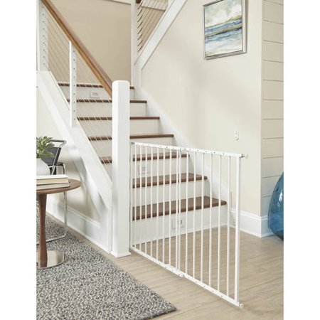 Storkcraft Easy Walk-Thru Metal Safety Gate, Choose Your Finish