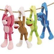 Long Arm Sock Monkey & Friends - Party Favors - 12 Pieces