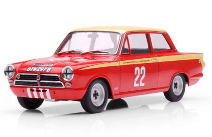 Witherdens Workshop Classic Car Mug Ford Lotus Cortina Mk1 1964